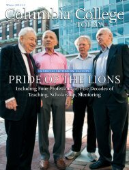 Download this issue as a PDF - Columbia College - Columbia ...