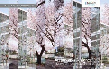 Designer Brochure - Vectorworks