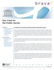 Use Case for the Public Sector - Informative Graphics Corporation
