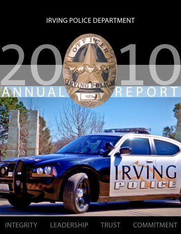 2010 Annual Report - City of Irving, Texas
