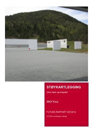 Støyrapport Ulven skyte- og øvingsfelt.pdf - Forsvarsbygg