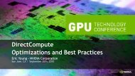DirectCompute Optimizations and Best Practices - Nvidia
