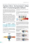 Energiatehokas Carbon Zero kompressori ... - Atlas Copco - Page 6