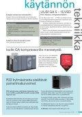 Energiatehokas Carbon Zero kompressori ... - Atlas Copco - Page 7