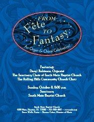 Daryl Robinson Organ Choral Concert 20061008 8 half by 11.p65