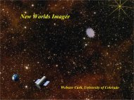 New Worlds Imager