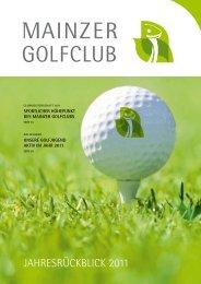 6 indoor- absChlaGsplätze pro shop - Mainzer Golfclub