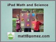 iPad-Math-Science-Vegas-Handout