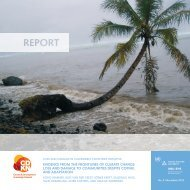Evidence from the Frontlines of Climate Change - Center for ...