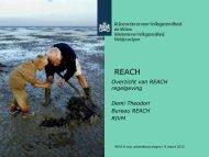 Overzicht van REACH regelgeving