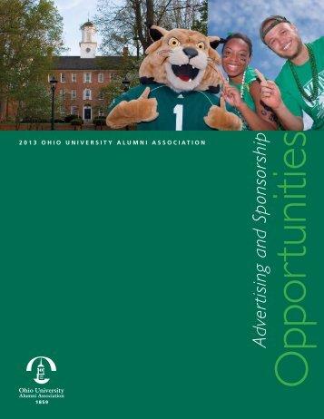 Advertising and Sponsorship - Ohio University Alumni Association