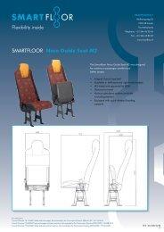 Flexibility inside SMARTFLOOR Noco Guide Seat M2
