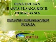 PENGURUSAN HARTA PUSAKA KECIL DI MALAYSIA - NRE