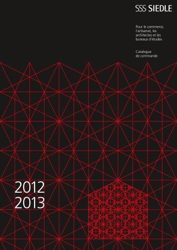 Siedle Catalogue de commande 2012-2013