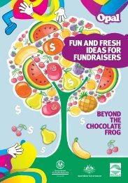 fun and fresh ideas for fundraisers - City of Whyalla - SA.Gov.au