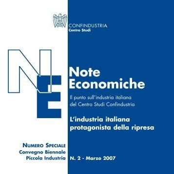 Le imprese protagoniste della ripresa - Confindustria