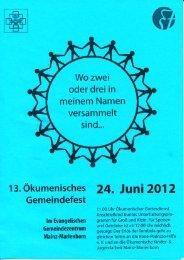 24. Juni 2012 - Mainz- Marienborn.de