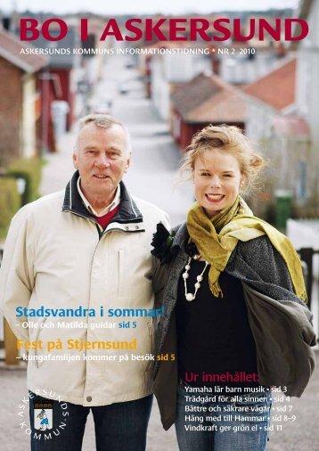 Bo i Askersund nr 2 2010.pdf - Askersunds kommun