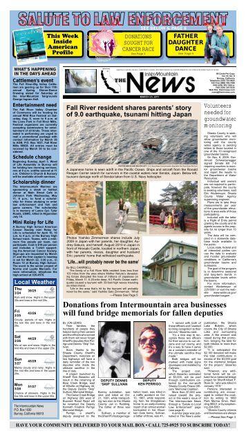 the intermountain newspaper