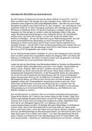 Jahresbericht 2011/2012 aus dem Kantonsrat - Zürich 7