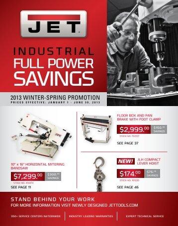FULL POWER - JET Tools