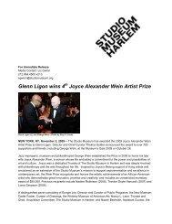 Glenn Ligon wins 4th Joyce Alexander Wein PrizeDownload PDF