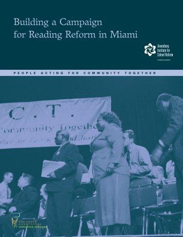 Miami case study - Annenberg Institute for School Reform