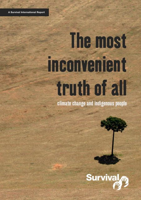 The most inconvenient truth of all - Survival International