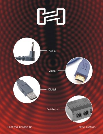 Hosa Technology, Inc. 2007 Product Catalog