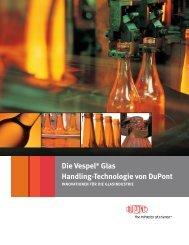 DuPont™ Vespel® for glass handling