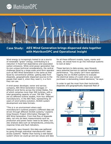 AES Wind Generation brings dispersed data ... - Automation.com