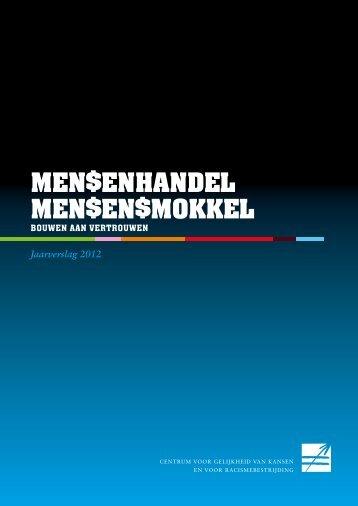 Jaarverslag Mensenhandel en Mensensmokkel 2012