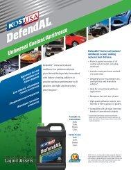 DefendAL™ Universal Antifreeze/Coolant