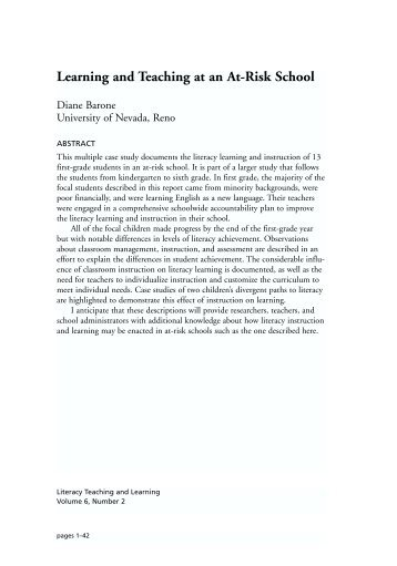 layout-Vol.6 No.2/2002-final - Reading Recovery Council of North ...