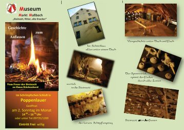 Flyer - Heimatmuseum