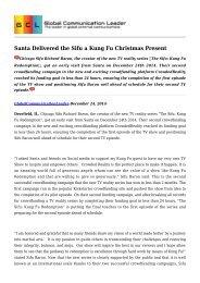 Santa Delivered the Sifu a Kung Fu Christmas Present