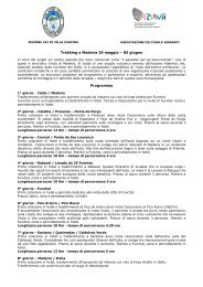 Trekking a Madeira 29 maggio – 05 giugno Programma