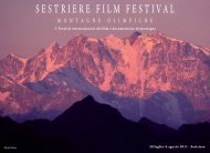 SESTRIERE FILM FESTIVAL - Gialdini World