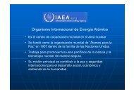 Organismo Internacional de Energía Atómica - UNAM