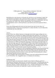 Erfahrungsbericht – Erasmus Studium in Karlstad / Schweden August