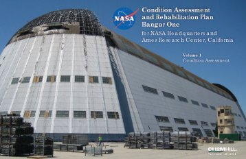 Hangar 1 Condition Assessment and Rehabilitation Plan, Volume 1