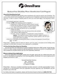 Reduced Fare Disability Photo Identification Card ... - Omnitrans