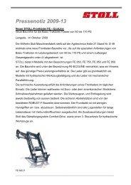 2009-13_STOLL_Frontlader FE-DE.pdf - Wilhelm Stoll ...