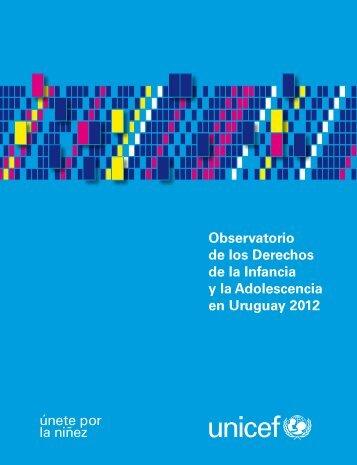 Observatorio de los Derechos de la Infancia y la ... - Unicef