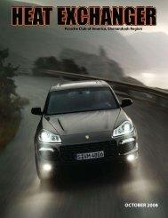 OCTOBER 2008 - Shenandoah Region Porsche Club of America