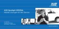 KVD Spotlight SPEZIAL Mobile Lösungen für den Service - FLS