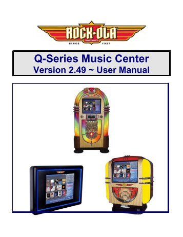 Q-Series Music Center - BMI Gaming