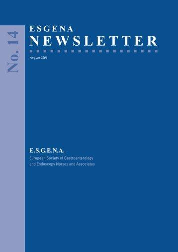 newsletter - ESGENA