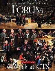 Serving Global Church - Calvin Theological Seminary (internal ...