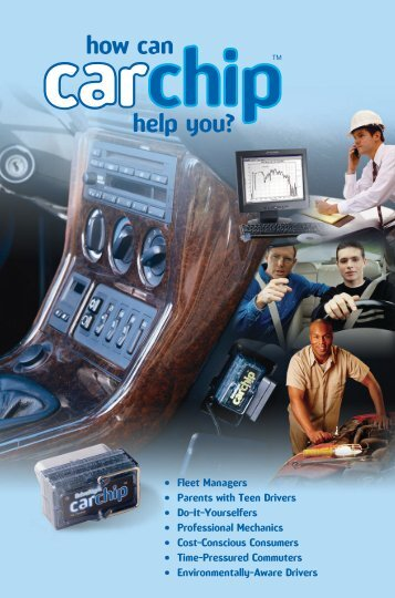 how can help you? - CarChip DriveRight Online
